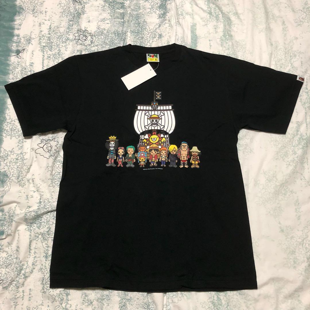 266fabf4 Bape One Piece Milo Black Tee XL, Men's Fashion, Clothes on Carousell