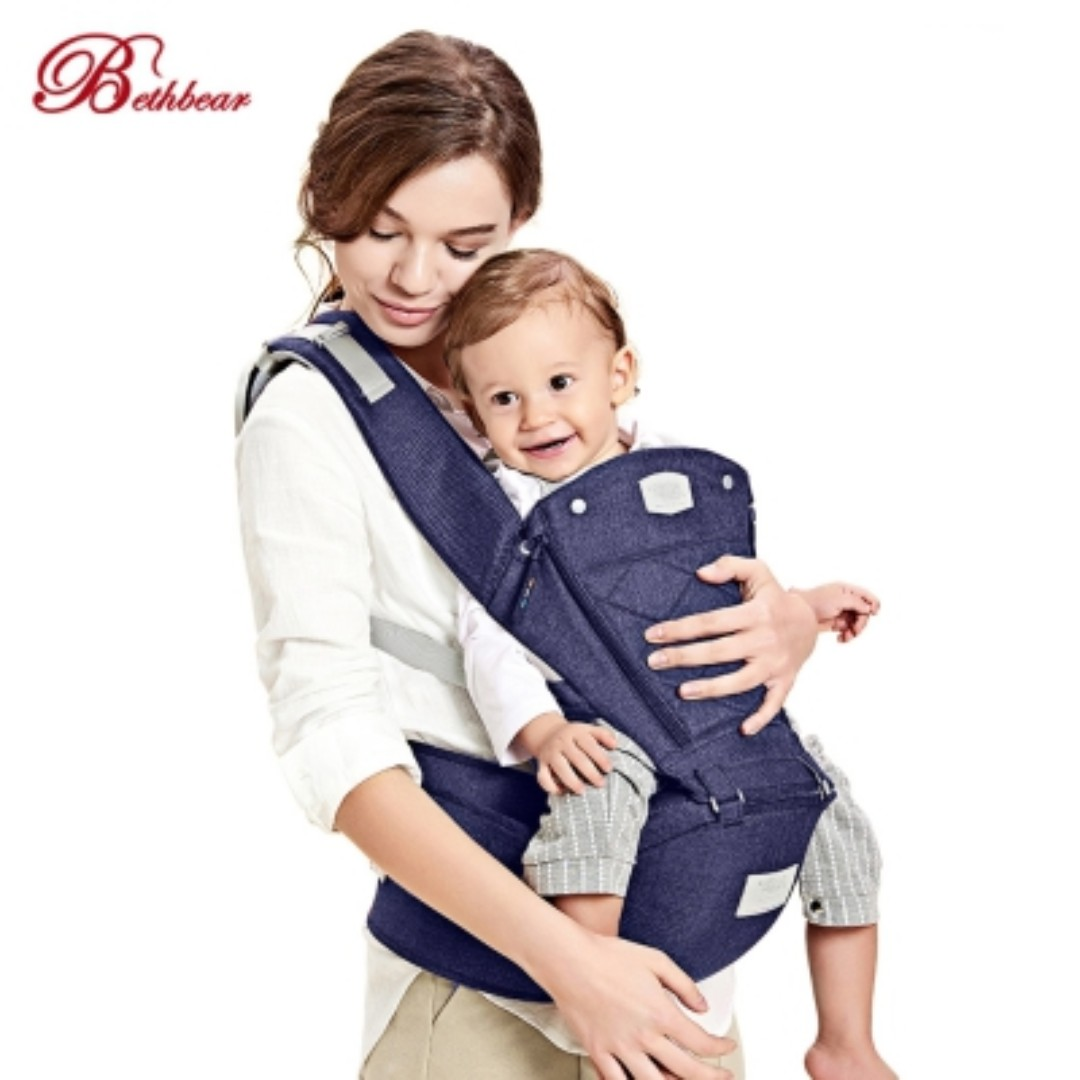 aee46923d15 Bethbear Baby Carrier Ergonomic Backpack Hipseat Newborn Infant ...