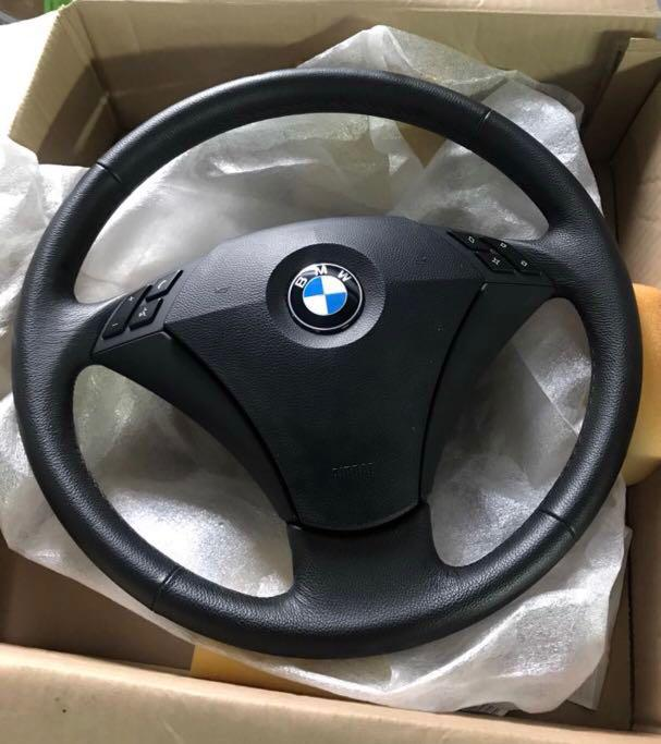 Bmw E60 original new Steering wheel with air bag, Car