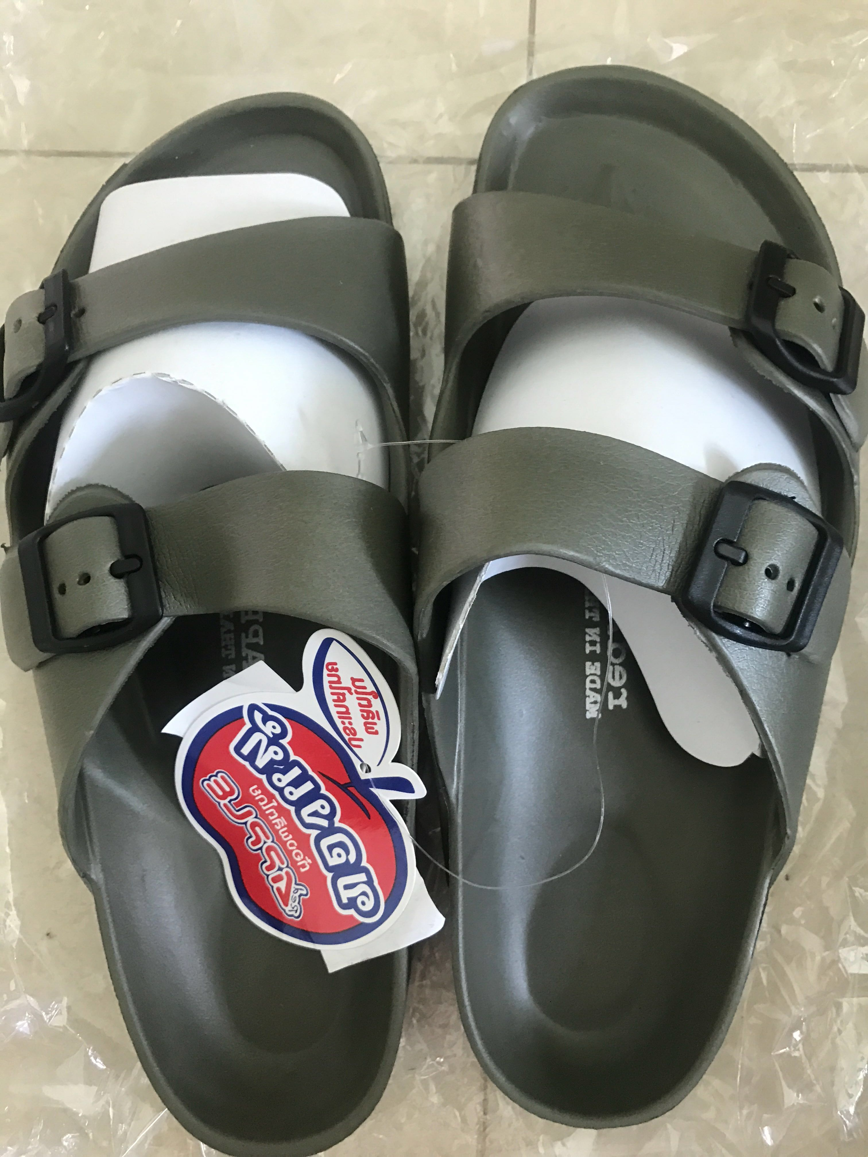 on sale e4e15 ddfc0 BN Slippers from Thailand, Men s Fashion, Footwear, Slippers   Sandals on  Carousell