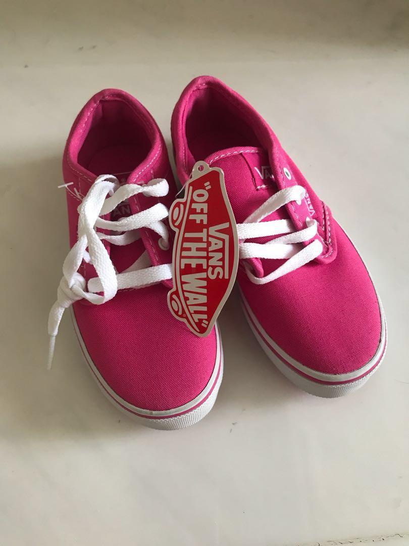 2db31eb1d8 BNWT Vans kids girls shoes