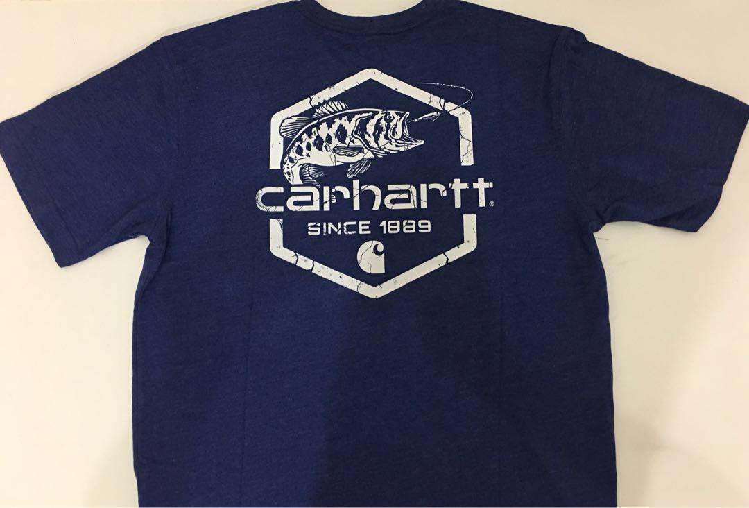 f502d2324 Carhartt Men's Maddock Graphic Fishing 1889 SS T-Shirt, Men's ...