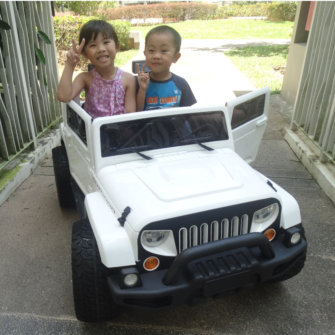 Cheapest 2 Seater Kids Electric Car Best Choice For Families With 2