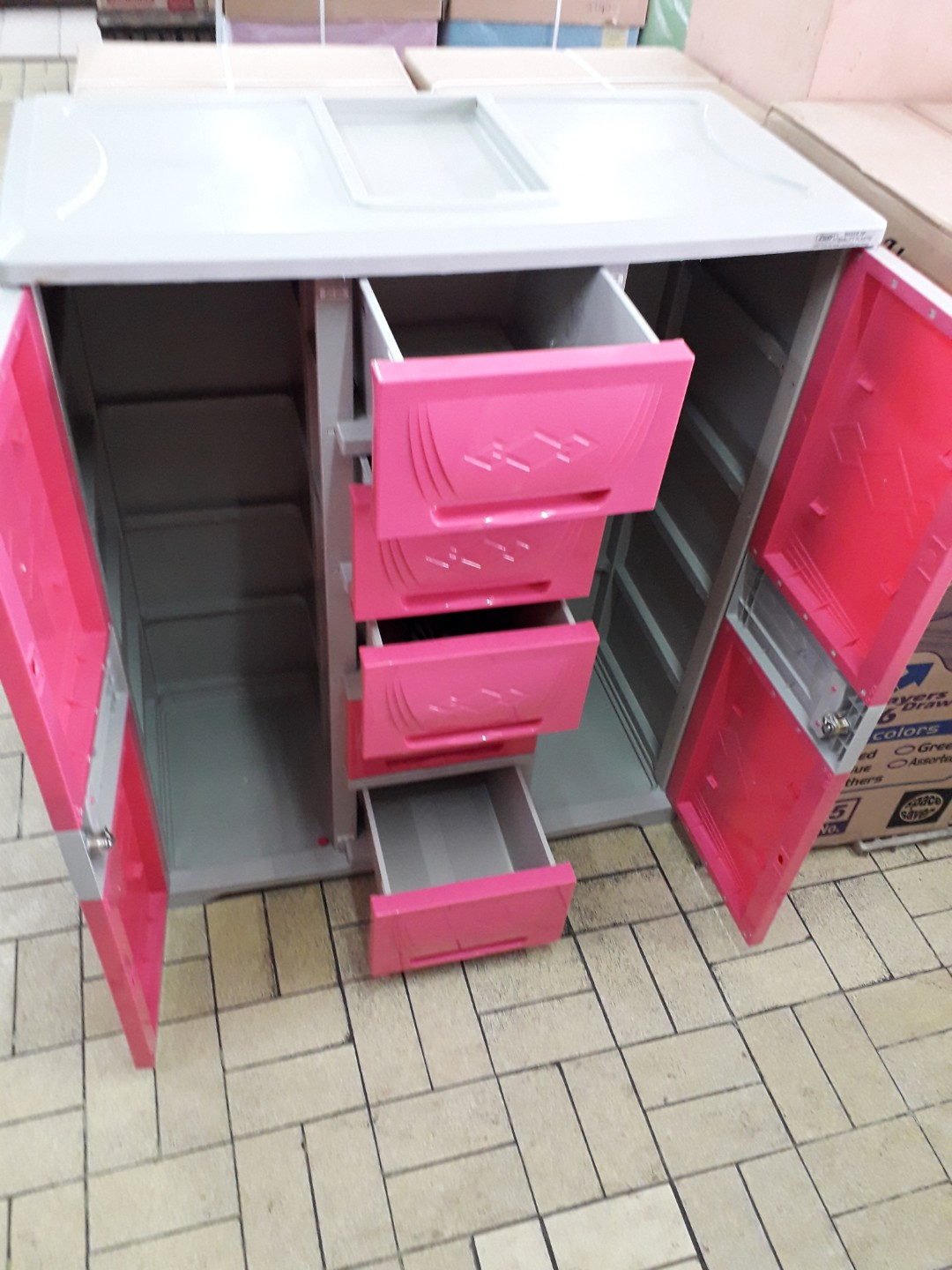 Dual Cabinet Zooey Home Furniture On Carousell
