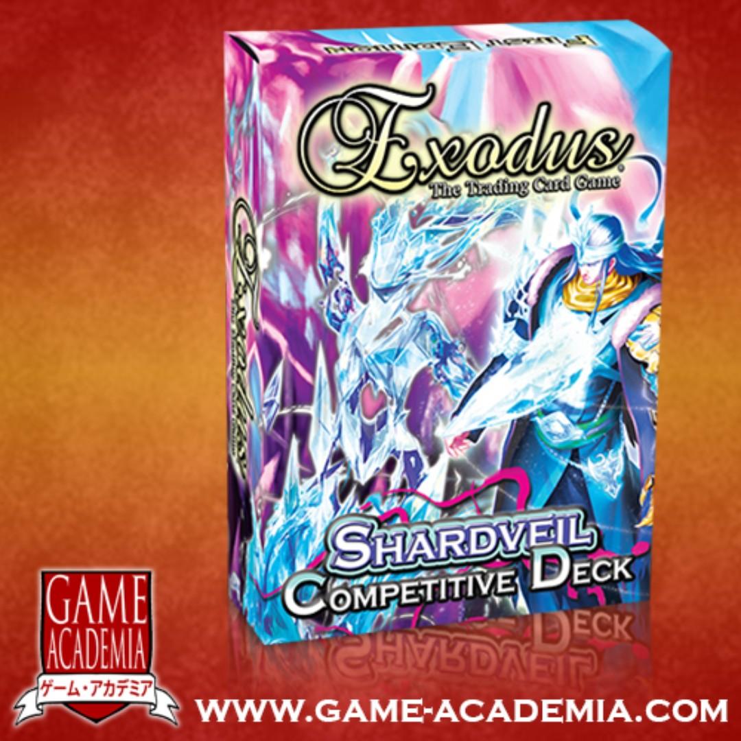 EXODUS TCG - SET 03: SHARDVEIL COMPETITIVE DECK