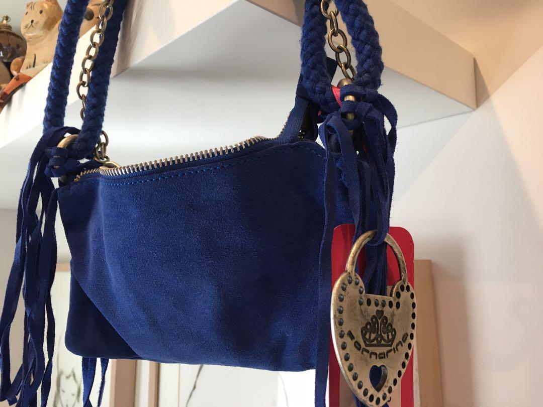 Formarina electric blue should bag