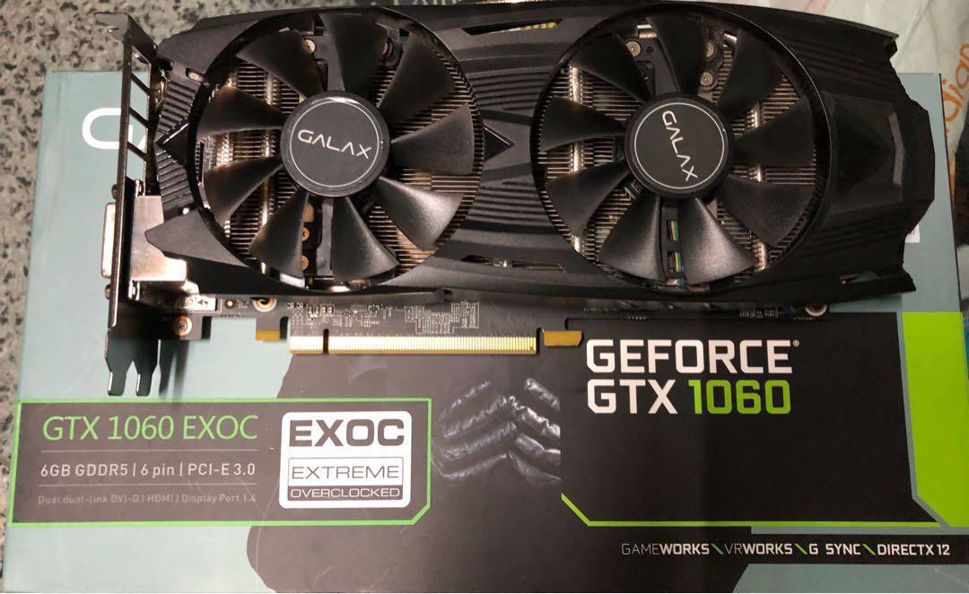 GALAX GTX 1060 6GB EXOC
