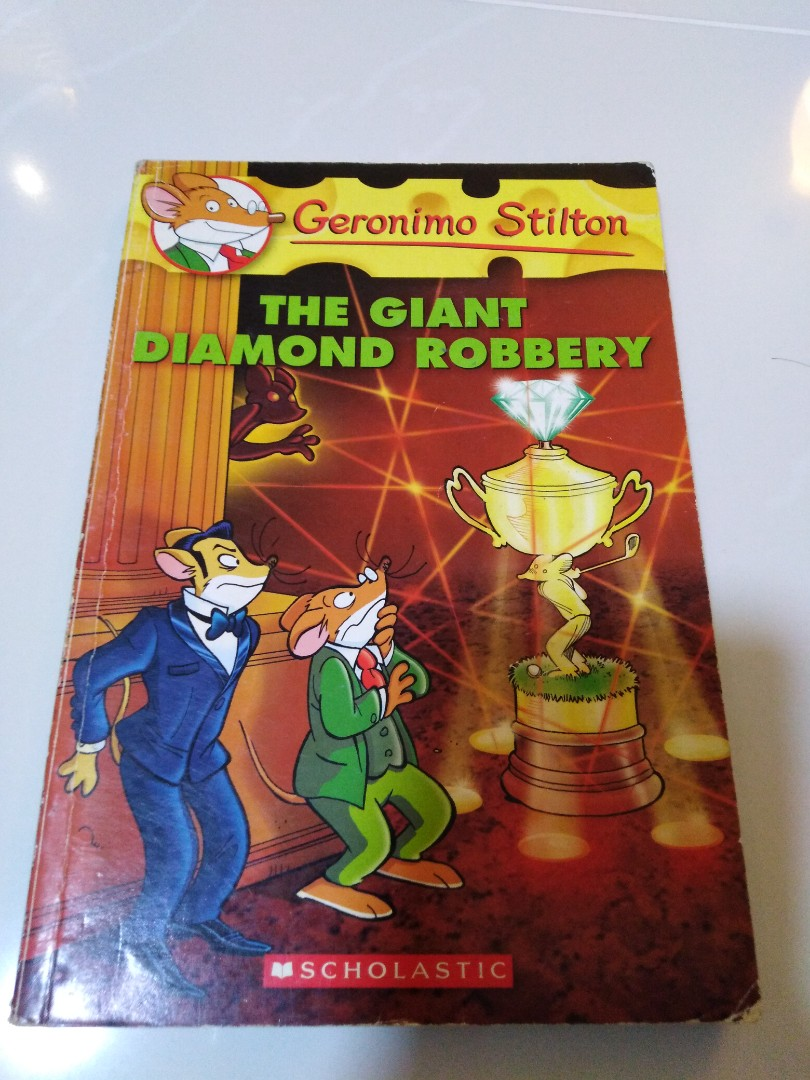 Geronimo Stilton - Save The White Whale, Books & Stationery, Children's  Books on Carousell