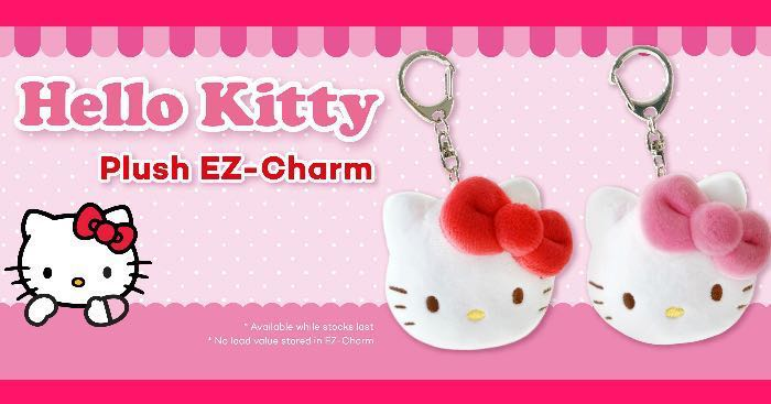 e1b875002 Hello Kitty Ezlink Charm (Pink), Women's Fashion, Accessories ...