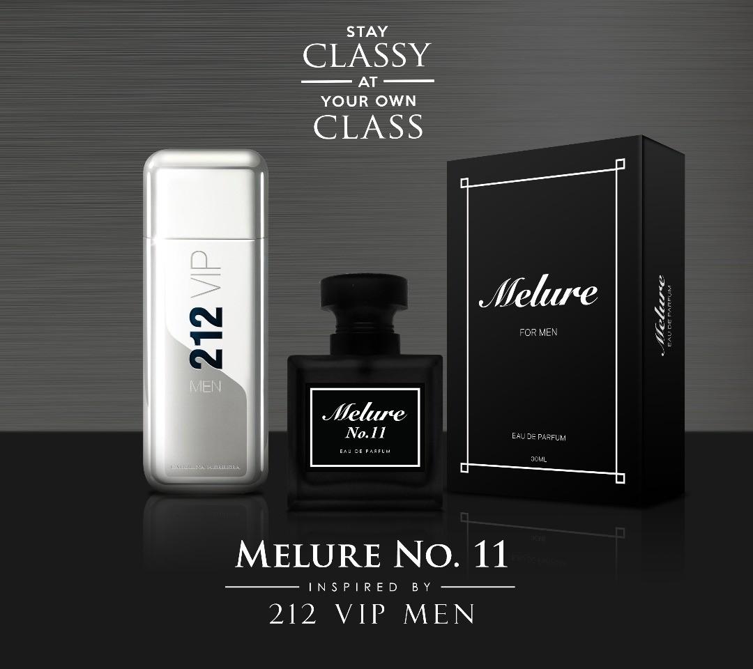 Melure Perfume No11 212 Vip Men Health Beauty Perfumes Nail
