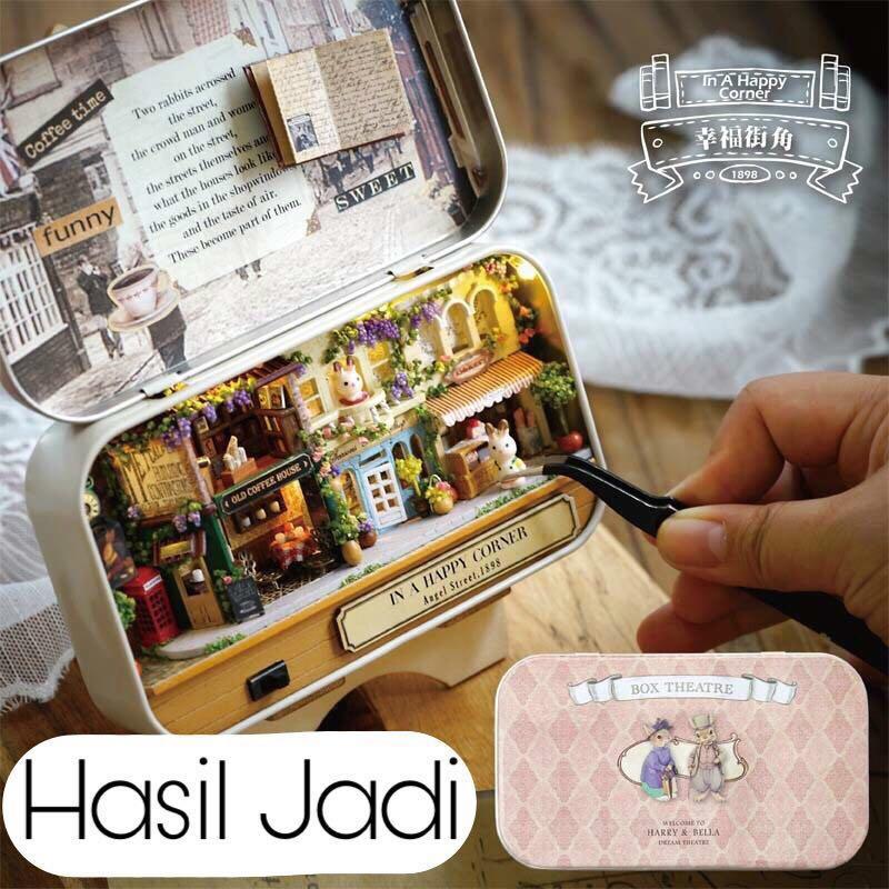 Miniatur 3D Dollhouse DIY Kit Rabbit e5043745d5