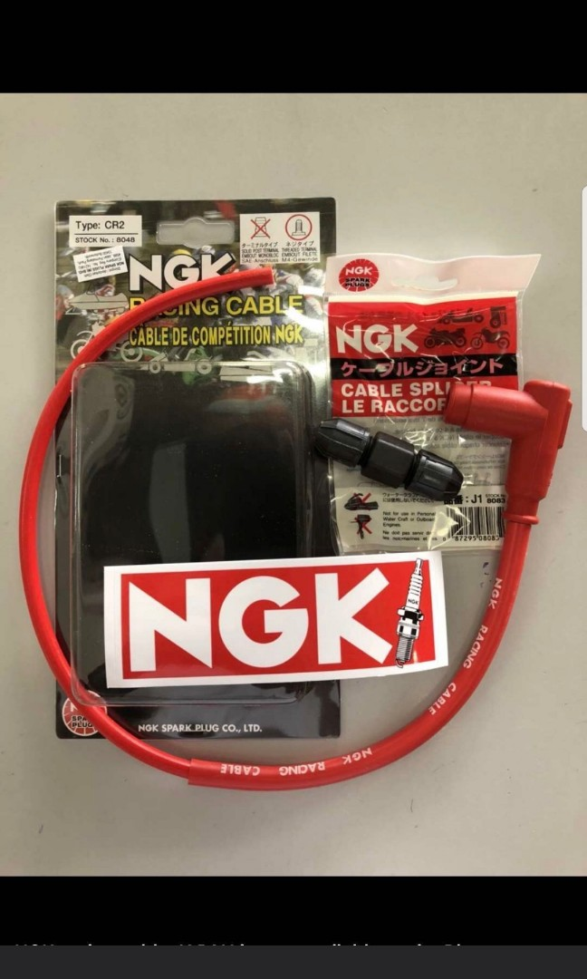 Ngk cr2 plug cable, Motorbikes, Motorbike Accessories on Carousell Ngk Spark Plug Wires Motorcycle on