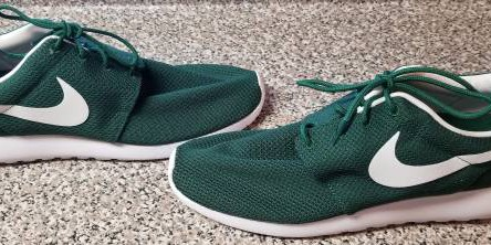 competitive price 6b067 8116d Nike Roshe One Gorge Green White Running Shoes Sneakers Size 12