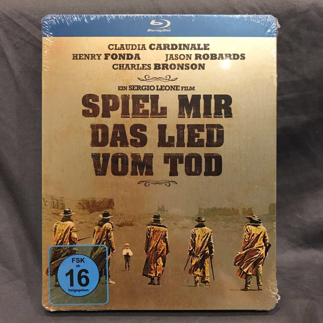 ONCE UPON A TIME IN THE WEST Blu-ray Steelbook Germany (Includes Poster) [OOP Rare] US$69 | S$87