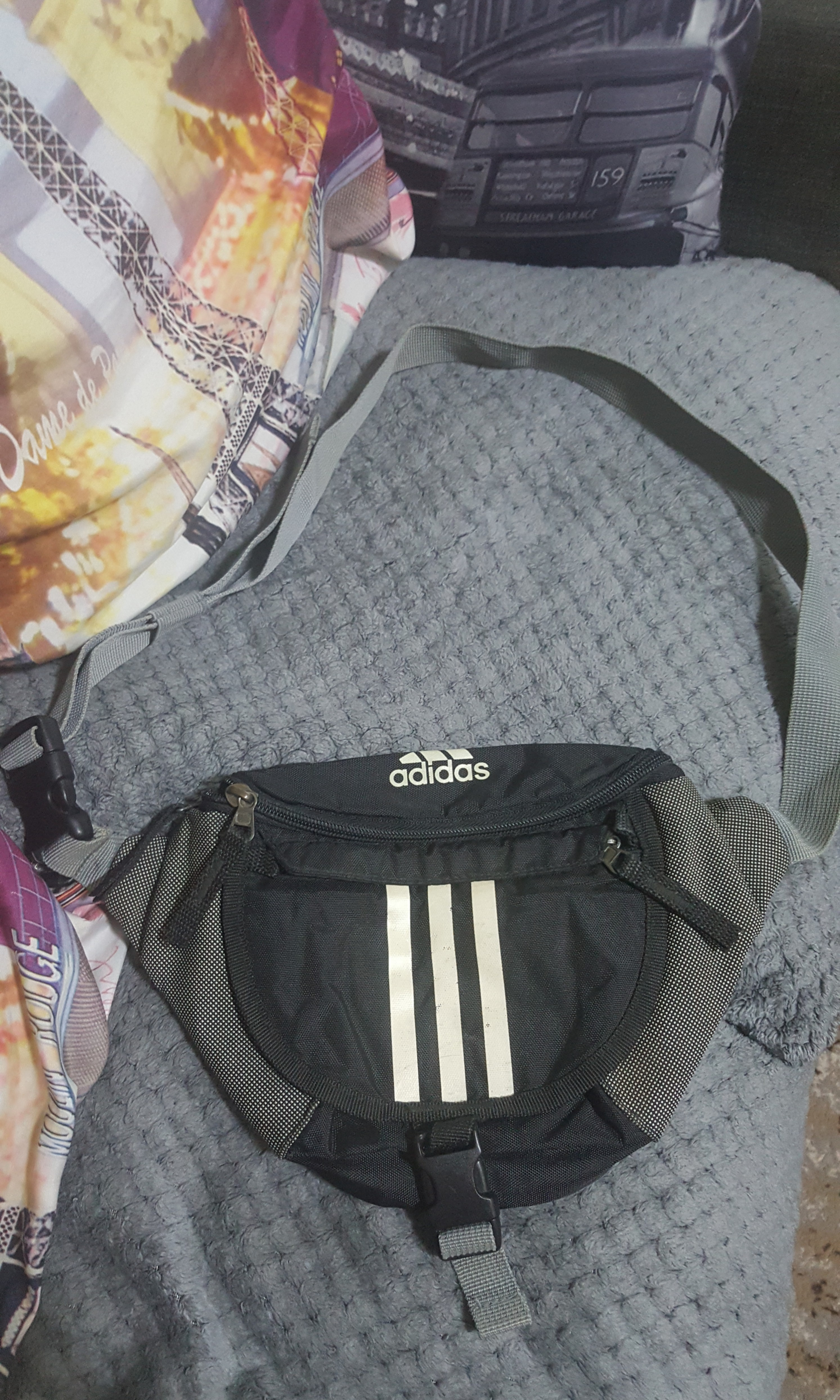 8e86eeb8ef Original Adidas unisex belt bag sports bag
