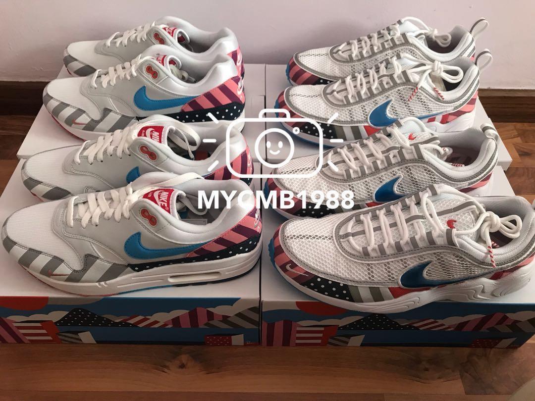 0e2c0262eb64 Parra x Nike Air Max 1   Zoom Spiridon