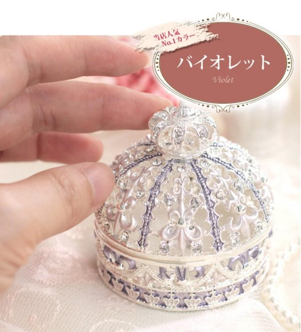日本原裝正版Piearth首飾盒