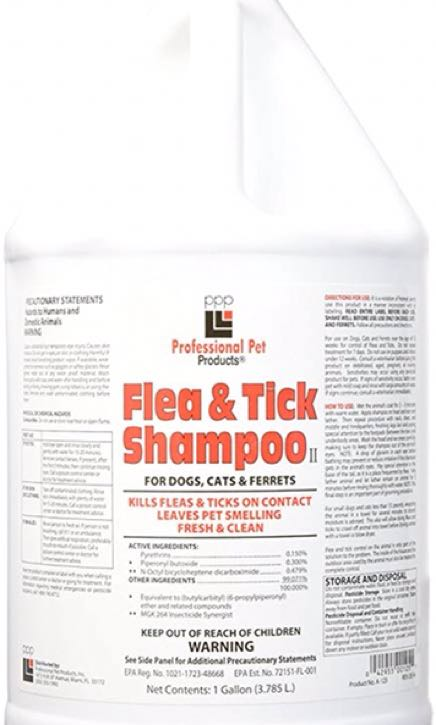 PPP Flea & Tick Shampoo 1 Gallon $69, Pet Supplies, For Dogs