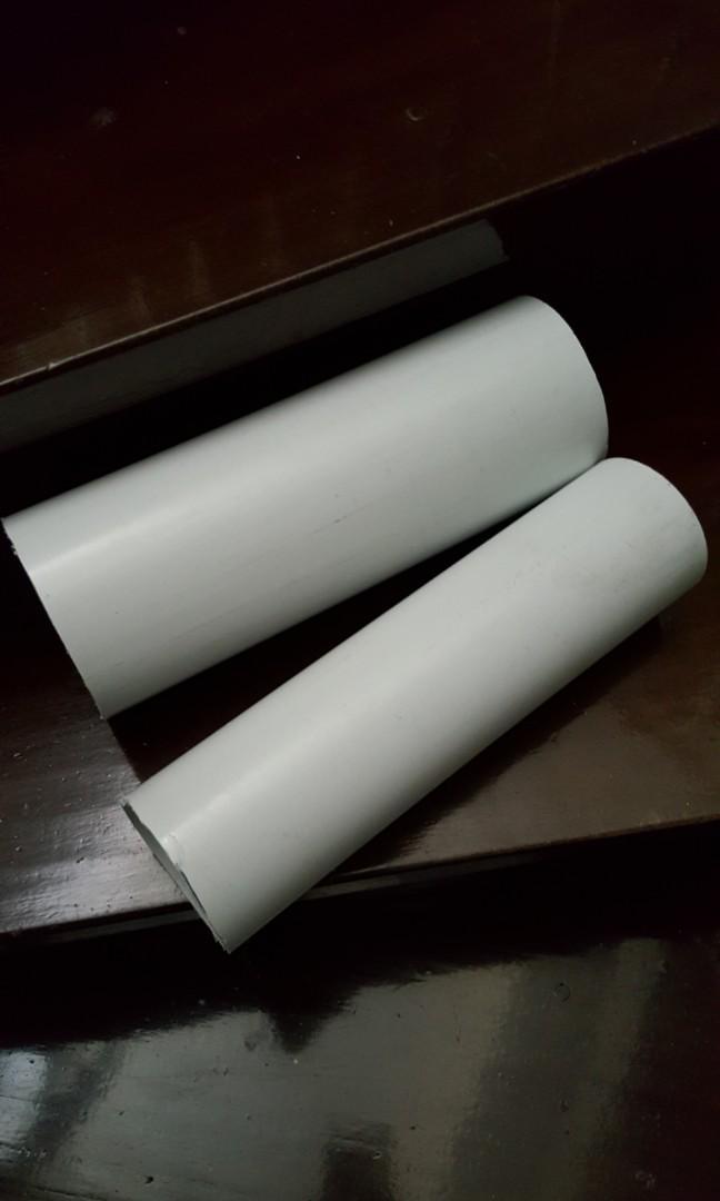 Pre cut pvc pipe as foam roller, Sports, Sports & Games