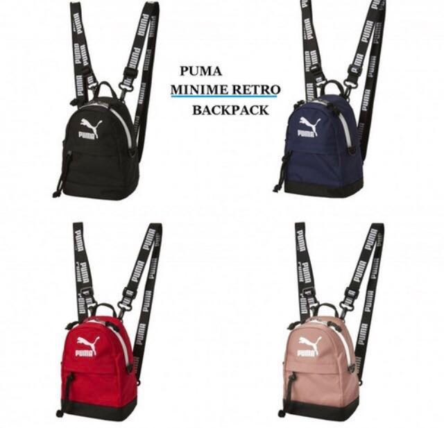 13dd9ae834 PUMA X BTS Minime Retro Backpack 3-Way
