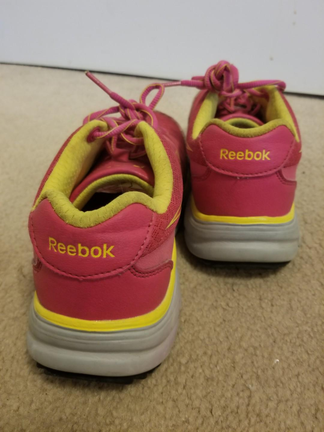 Steel Toed Safety Approved womens Pink Reeboks Size 6.5
