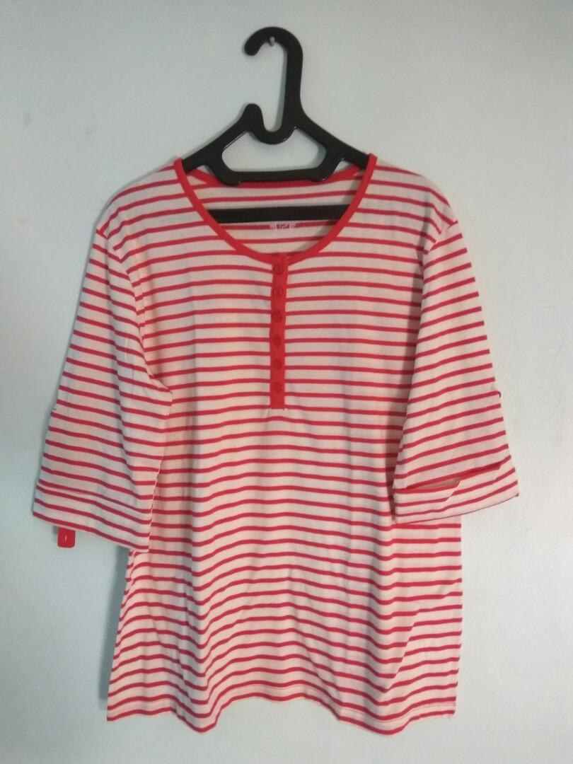 Uniqlo Stripe Blouse