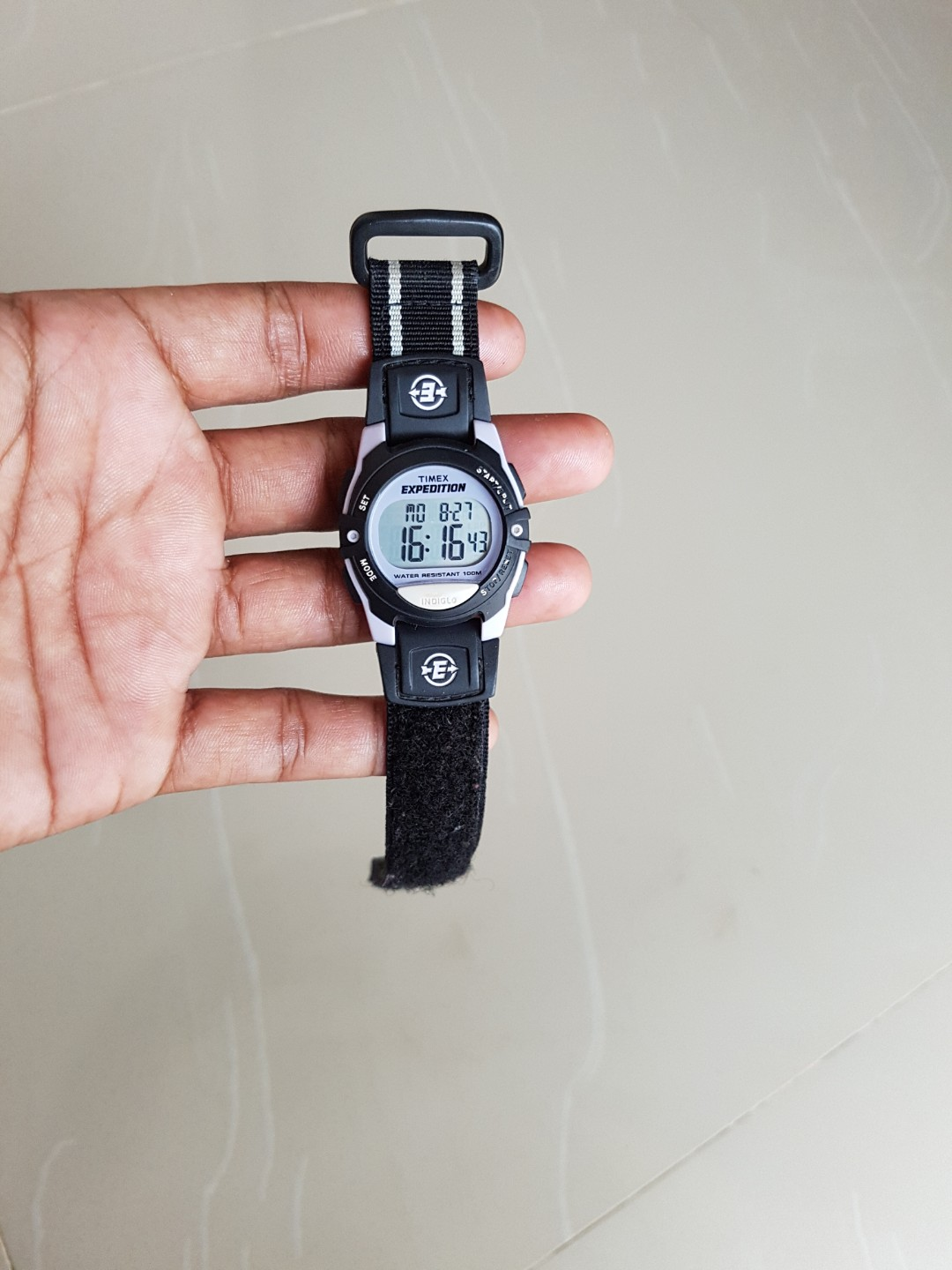 Harga Jual Jam Tangan Expedition Bekas 850000 Harley Davidson Hd Pria 6631 Black Orange Triple Time Original Timex Preloved Fesyen Di Carousell