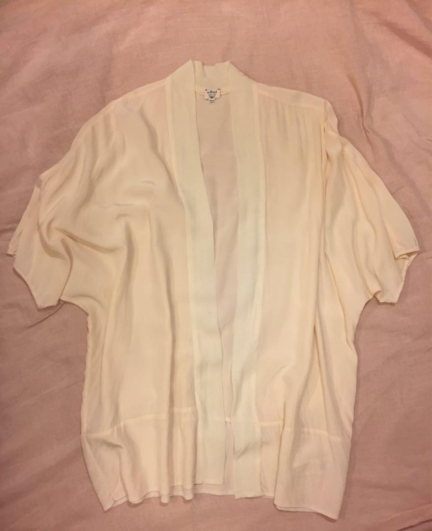 Wilfred 100% silk kimono