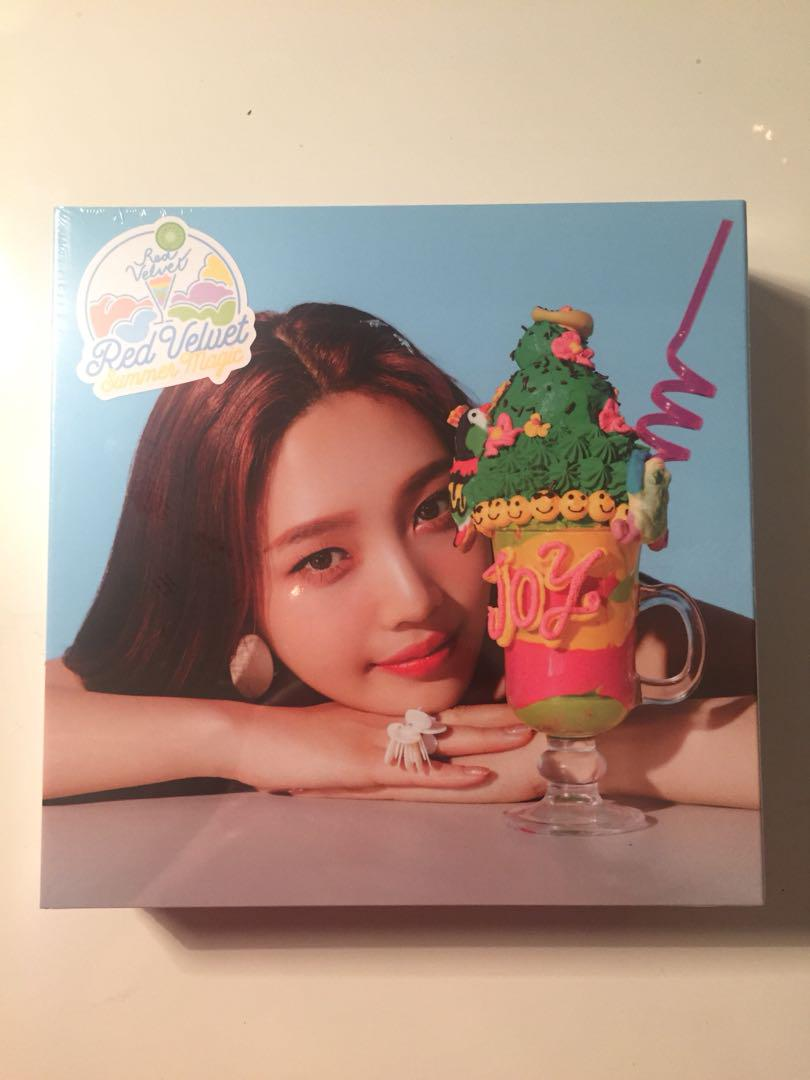 WTS Red Velvet Summer Magic Limited Joy Version