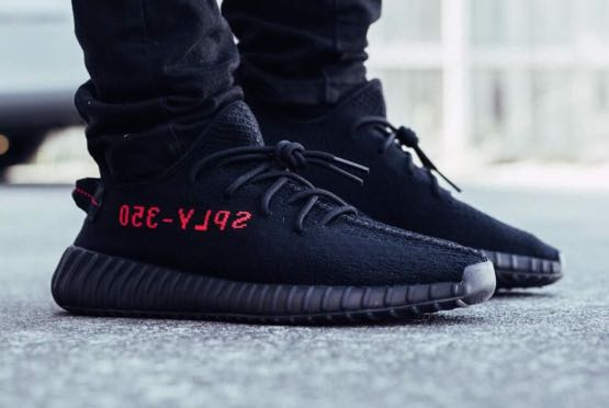 Yeezy Boost 350 V2 Bred d298927ae7