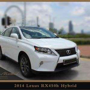 LEXUS RX450H Hybrid 2014