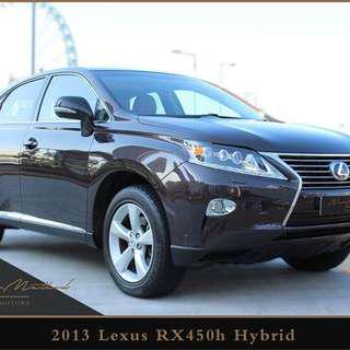 LEXUS RX450H Hybrid 2013
