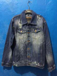FOR SALE, DENIM JACKET @queenbeerjeans ( ORIGINAL )