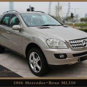MERCEDES-BENZ ML350 2006