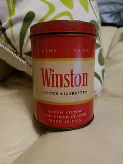 早期鐵煙罐