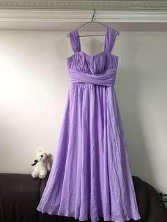 紫色姊妹裙 Purple Dress