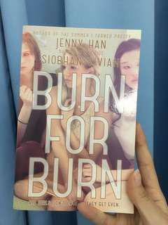 BURN for BURN English Novel