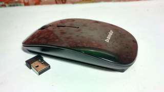 Mouse wirelees USB slim murah
