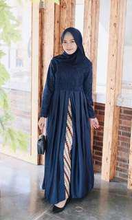 Dress Drinda Maxy Navy