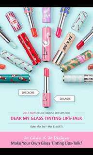 ✨ Etude House Lipstick CLEARANCE