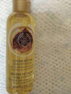 Beautifying Oil Cocoa The Body Shop