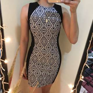 Aztec Bodycon Dress