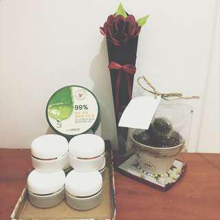 The saem aloe vera share in jar 30gr