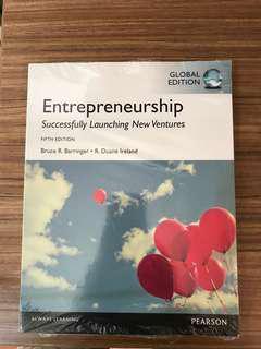 Entrepreneurship - FIFTH EDITION