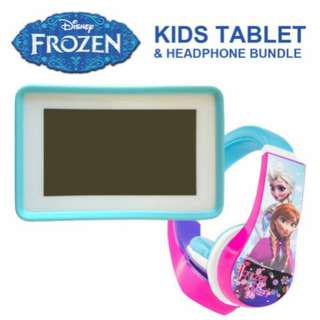 Disney's Frozen pocket tablet for kids with HEADPHONES