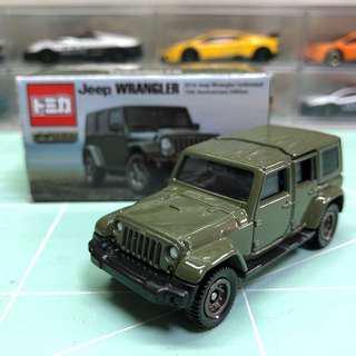 Tomica Jeep Wrangler 非賣品