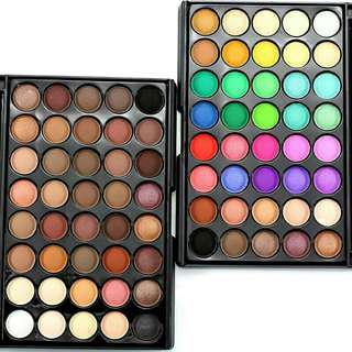 POPFEEL 40 Earth Colors Matte Pigment Eyeshadow Palette
