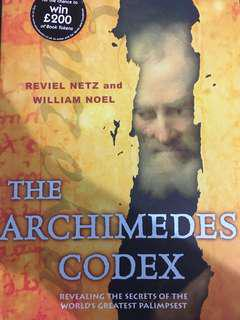 The Archimedes Codex by Reviel Netz and William Noel