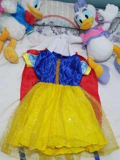 Pikachu and snow white costume