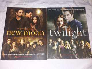 Twilight and New Moon Magazines